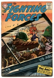Our Fighting Forces #26 1957-DC silver age war comic F/VF