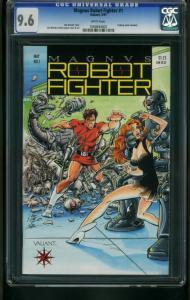 MAGNUS ROBOT FIGHTER #1-CGC 9.6-GOOD GIRL ART 1060694002