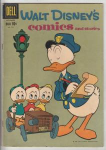 Comics and Stories, Walt Disney's #242 (Nov-60) FN/VF Mid-High-Grade Donald D...