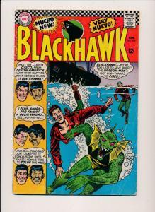 DC Comics BLACKHAWK #219 Dragon-Man 1966 VG (HX786)