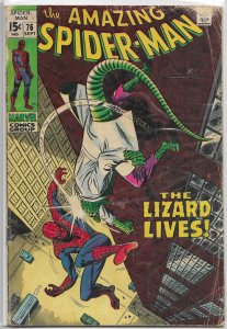 Amazing Spider-Man   vol. 1   # 76 GD Lee/John Buscema, Lizard