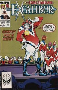 Marvel EXCALIBUR (1988 Series) #17 VF+