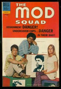 MOD SQUAD #7 '71-DELL COMIC-PEGGY LIPTON TV PHOTO COVER VF