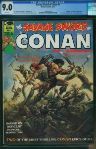 Savage Sword of Conan #1 (Marvel, 1974) CGC 9.0