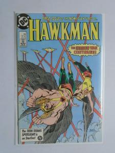 Hawkman (1986 2nd Series) #1 - 6.0 - 1986