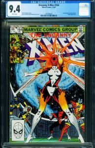 X-MEN #164 CGC 9.4 1982-marvel comic book CAROL DANVERS 1297066001