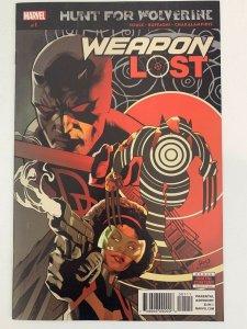 HUNT FOR WOLVERINE WEAPON LOST #1 MARVEL COMICS DAREDEVIL X-MEN LOGAN NM