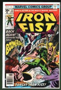 Iron Fist #13 (1977)