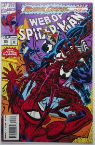 Web of Spider-Man 103 | Maximum Carnage | NM | Marvel 93 | Carnage - Venom Cover