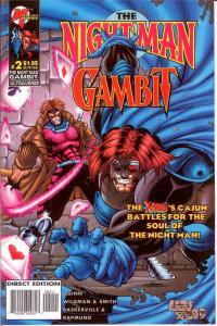 NIGHT MAN GAMBIT (1996 MA/UL) 2 (1.95 CVR) VF-NM