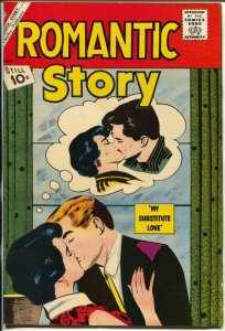 Romantic Story #59-1962-Charlton-rare misprint copy-pages not aligned-FN