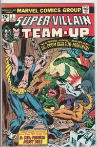 Super-Villian Team-Up #2 (Oct-75) VF/NM High-Grade Namor the Sub-Mariner, Doc...