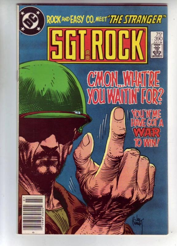 Sgt. Rock #390 (Jul-84) VF/NM High-Grade Sgt. Rock, Easy Co.
