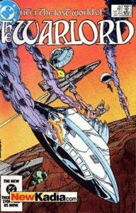 Warlord (1976 series) #85, VF+ (Stock photo)