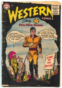 Western Comics #51 1955- Pow-Wow Smith- Nighthawk FAIR
