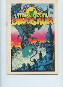 The Adventures of the Little Green Dinosaur #1 / 1st Printing / 1972 / Last Gasp