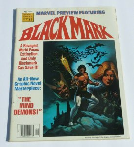 Marvel Preview #17 VF- Blackmark 1979 Marvel Magazine Gil Kane Art Sci-Fi Demons