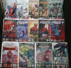 Amazing Spider-Man Dan Slott Reader's Lot of 14Diff from v3 + v4 Swing Time!