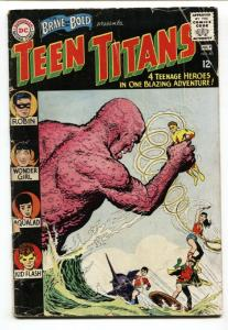 BRAVE AND THE BOLD #60 Wonder Girl - Teen Titans - DC Comic Book