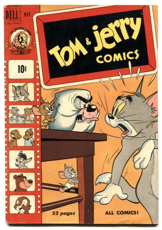 Tom and Jerry Comics #76 1950- Golden Age VG