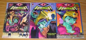 Bombaby the Screen Goddess #1-3 VF/NM complete series - amaze ink set lot 2