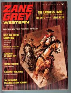 ZANE GREY WESTERN 1974 JUN-THE LAWLESS LAND-SILVER CITY FN