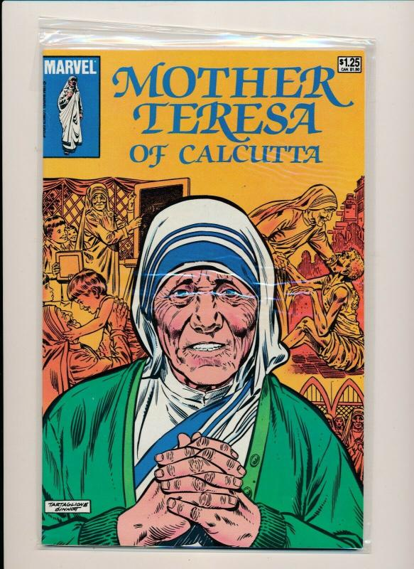 Marvel MOTHER TERESA OF CALCUTTA comic book VERY FINE+ (PF857)
