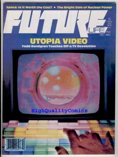 FUTURE #23, Sci-Fi Magazine, Devo, V/NM, Utopia, 1978, Nuclear Power