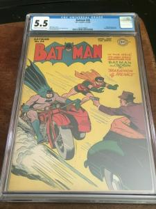 1946 BATMAN # 34 DC Comic CGC 5.5 Detective DC GOLDEN AGE Dick Sprang Key Movie