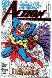 Action Comics 587 Apr 1987 NM- (9.2)