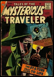 Tales of the Mysterious Traveler #10 1958- Steve Ditko- Charlton comics VG-