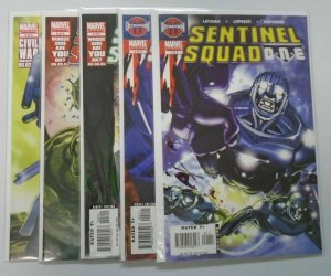 Sentinel Squad One Set:#1-5, 8.0/VF (2006)