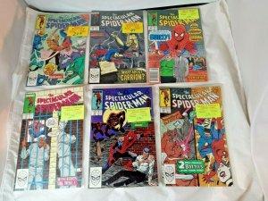 Marvel The Spectacular Spider-Man 147 149-53 156-57 164 167 173-75 177 185-87 VF