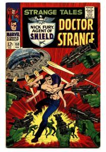 STRANGE TALES #153 comic book-DOCTOR STRANGE/NICK FURY-KIRBY vf