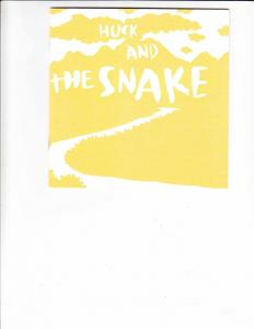 Huck and the Snake #1 VF/NM emily wieja - indy alt mini comic - rare