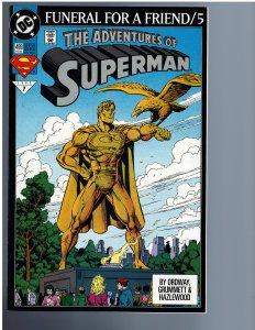 Adventures of Superman #499 (1993)