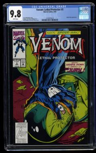 Venom: Lethal Protector #3 CGC NM/M 9.8 White Pages