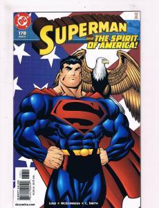 Superman # 178 VF/NM DC Comic Books Justice League Batman Wonder Woman Flash SW8