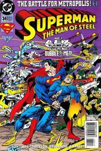 Superman: The Man of Steel #34, NM (Stock photo)