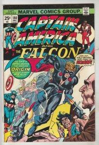 Captain America #180 (Dec-74) VF+ High-Grade Captain America