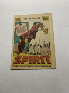 The Spirit Comic Book Section Sunday June 28 1942 Nm Near Mint