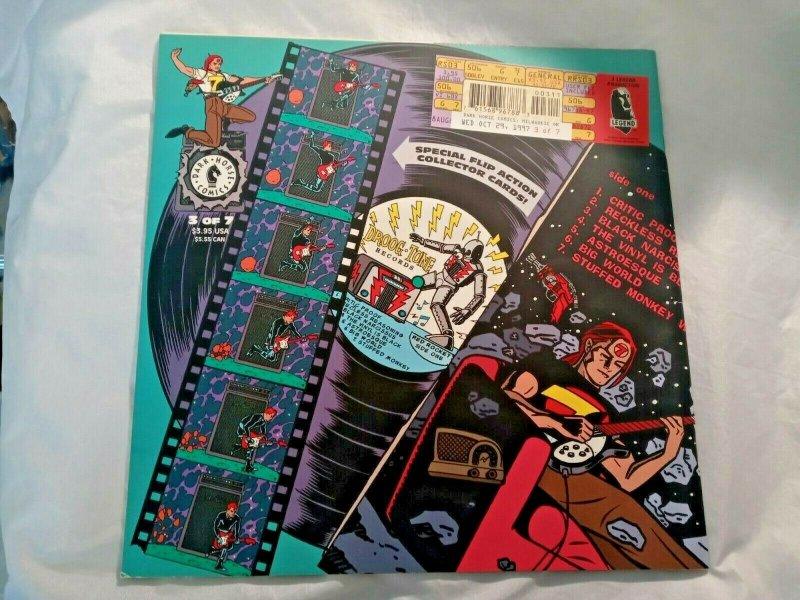 Lot of 3 RED ROCKET 7 1997-98 Comic Magazine #2 3 4 Dark Horse Mike Allred NM