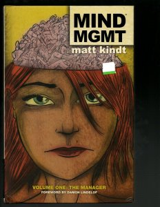 MIND MGMT Vol. # 1 The Manager Dark Horse Comic Book HARDCOVER Novel J402