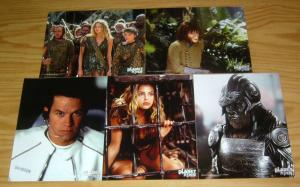 Planet of the Apes full color movie stills set of (5) VF/NM mark wahlberg 2001