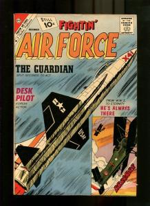 FIGHTIN' AIR FORCE 30-1961-JET ON COVER-WW1 NM