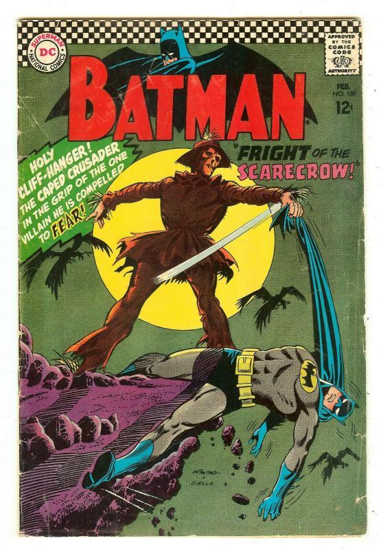 Batman 189   1st Scarecrow