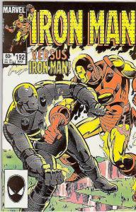 Iron Man #192 (Mar-86) NM Super-High-Grade Iron Man