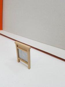 Figura: Tabla de lavar antigua de madera