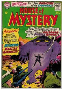 HOUSE OF MYSTERY 154 G-VG Oct. 1965