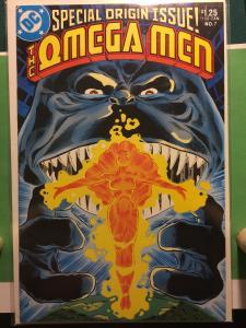 The Omega Men #7 SPECIAL ORIGIN ISSUE!